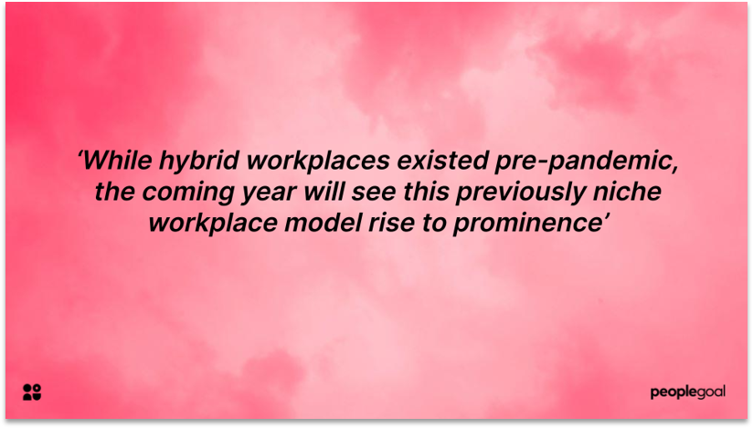 Hybrid Workplaces and Company Culture