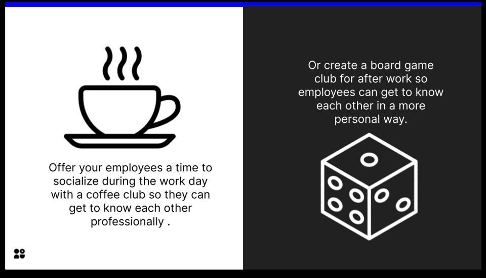 teamwork - coffee club