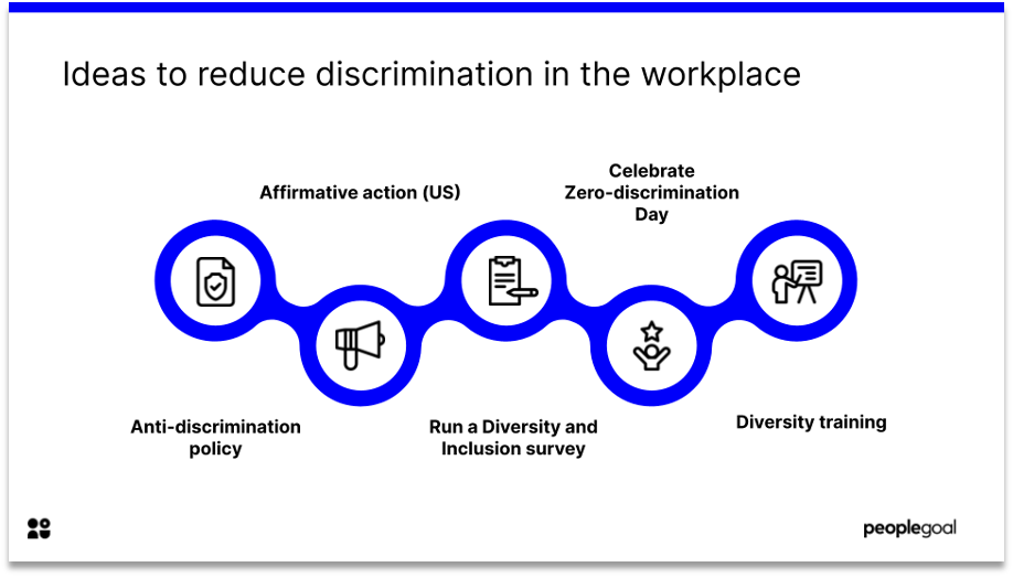 discrimination definition ideas to reduce discrimination in the workplace