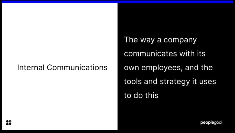 Definition of Internal Communications