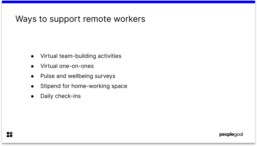 Supporting Remote Employees Hybrid Workplace