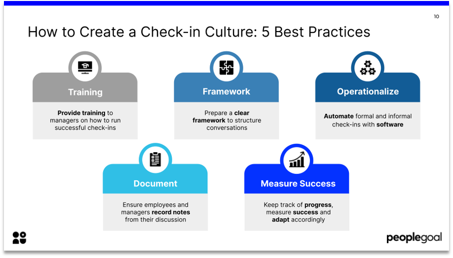 how to create a check-in culture