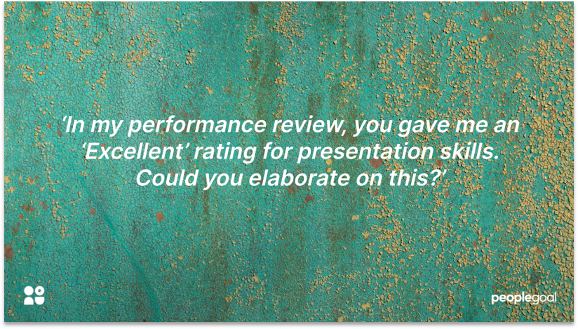 One on one meeting questions : Performance reviews