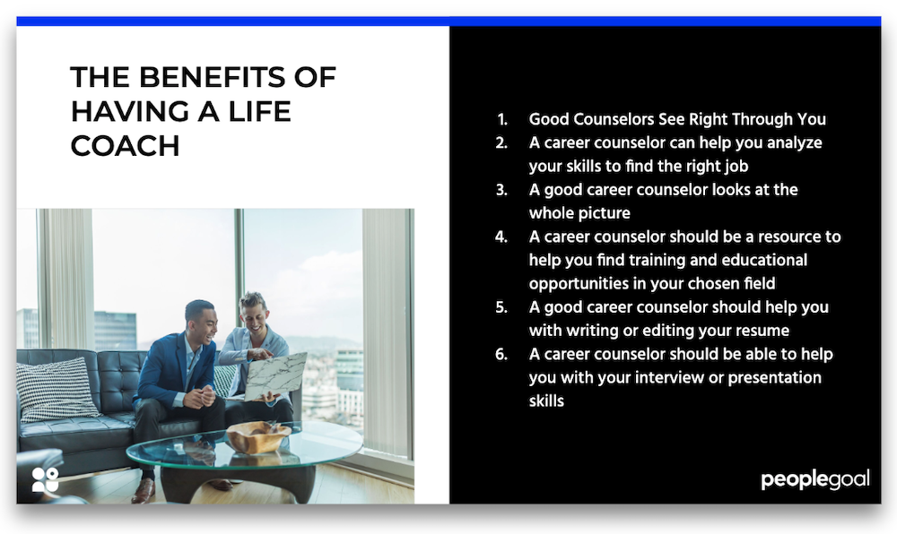 benefits of having a life coach