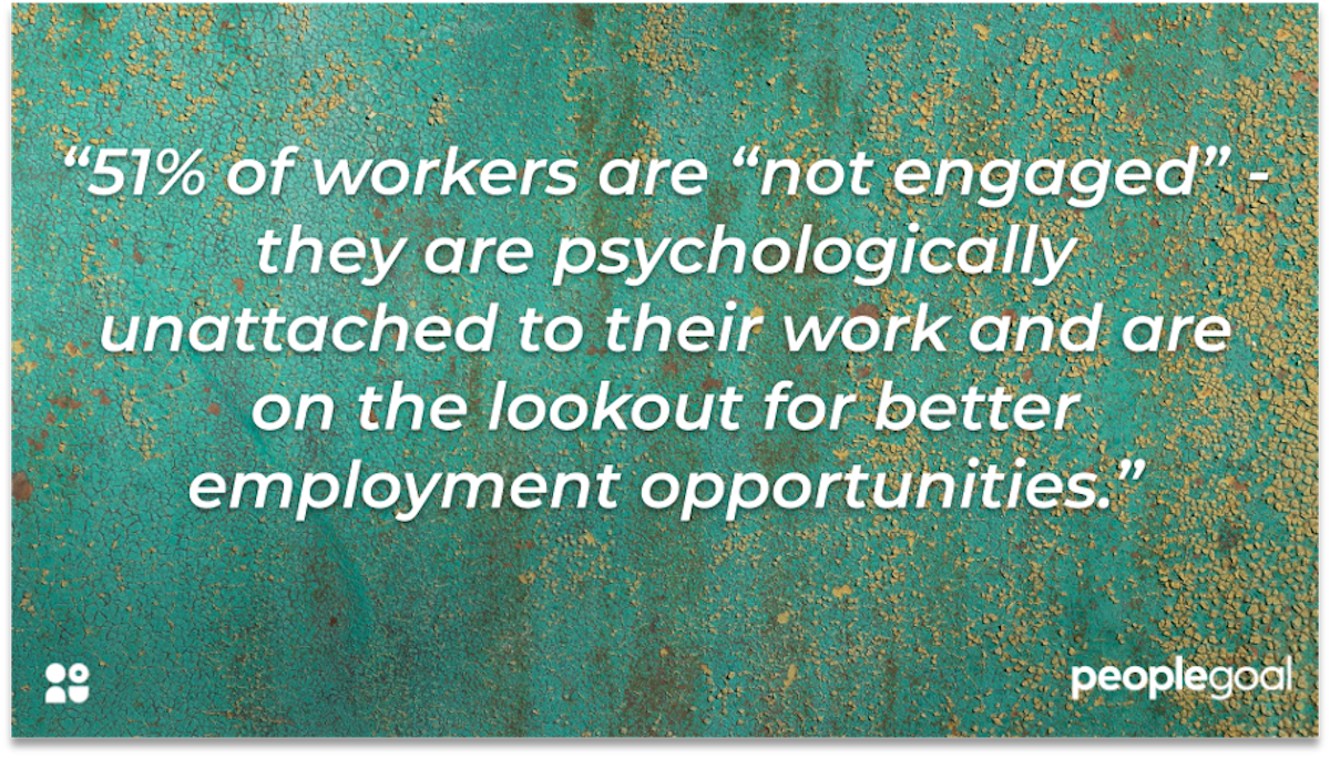 employee experience disengaged workers gallup peoplegoal