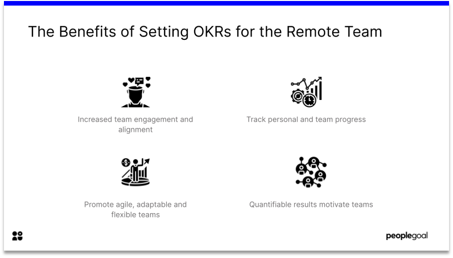 objectives and key results benefits remote team