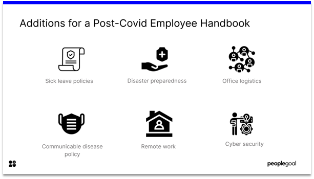 additions for post covid employee handbook
