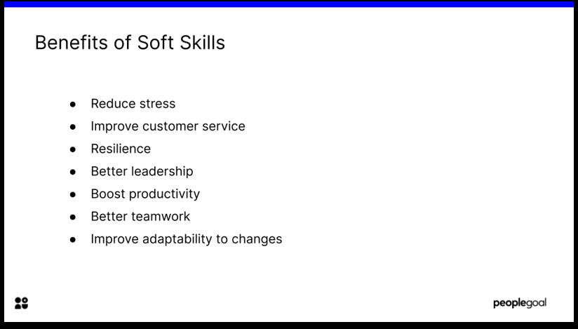 Benefits of Soft Skills in Training Programs Employee Development