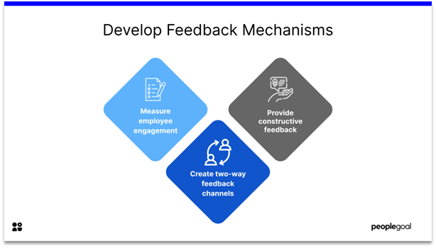 Homeostasis - develop feedback mechanisms