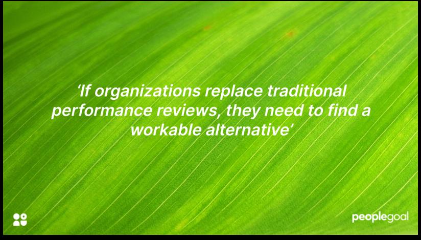 Performance Reviews alternatives