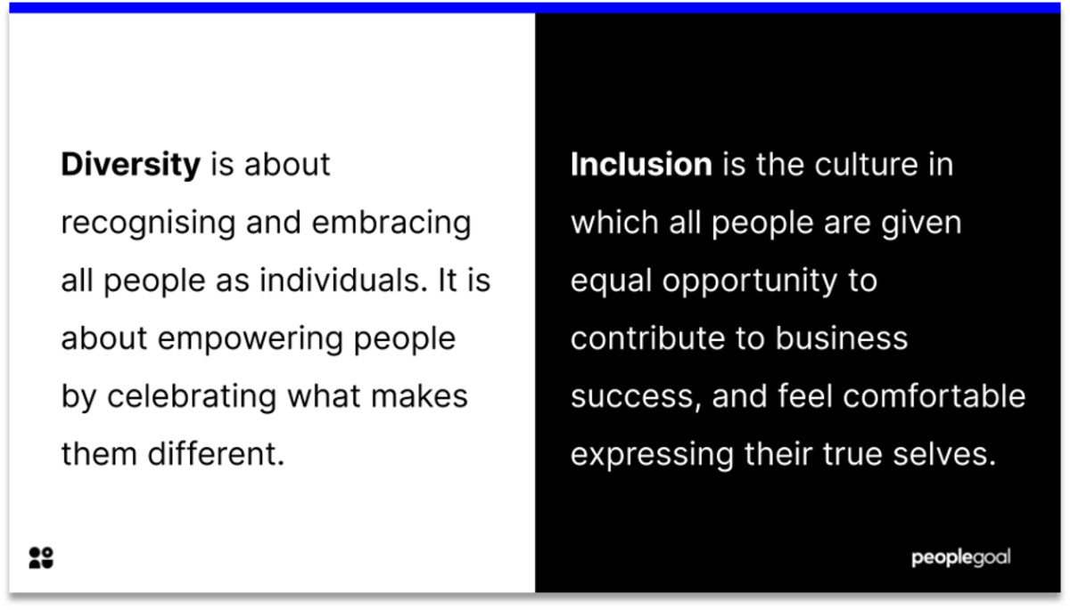 diversity and inclusion definitions