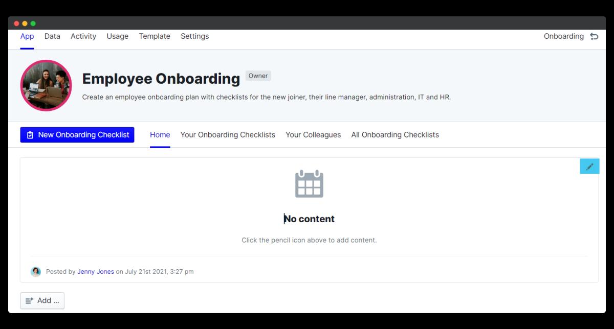 employee onboarding process - edit schedule