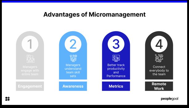 advantages of micromanagement
