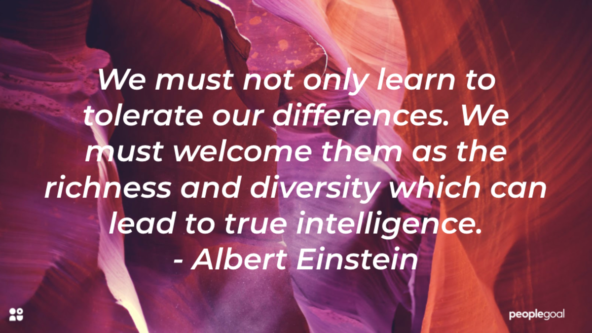 Diversity Equity and Inclusion Activities Einstein quote
