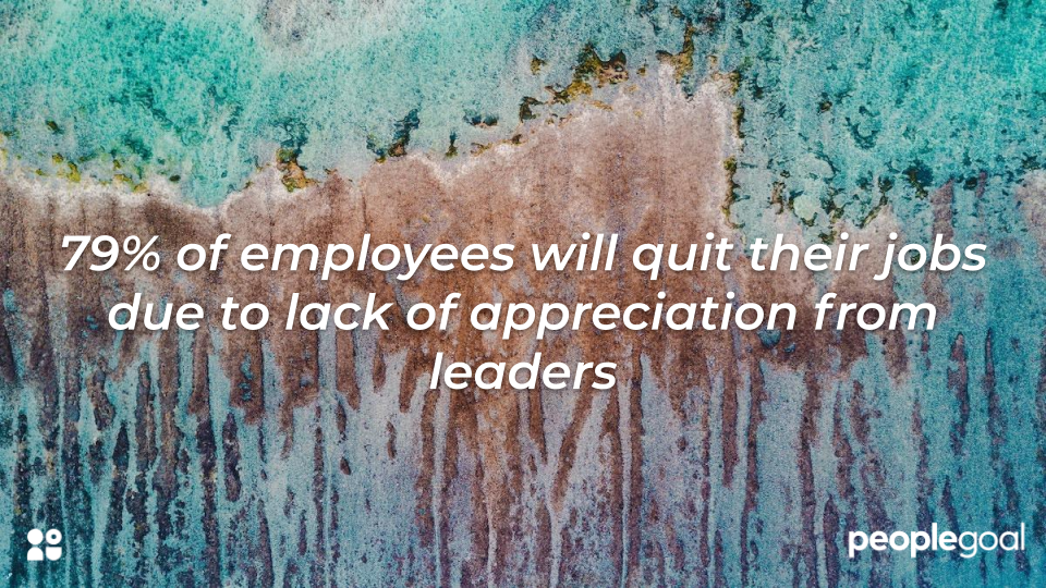 Qualities of a leader - employees leave due to lack of appreciation from leaders