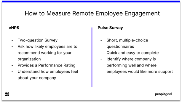Remote Employee Engagement - how to measure remote employee engagement