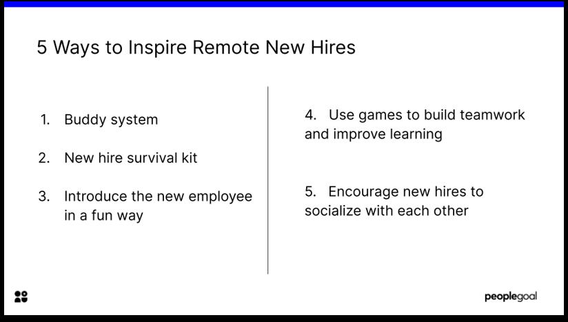 5 ways to inspire new hires through onboarding program