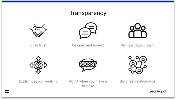 Employee Engagement - transparency