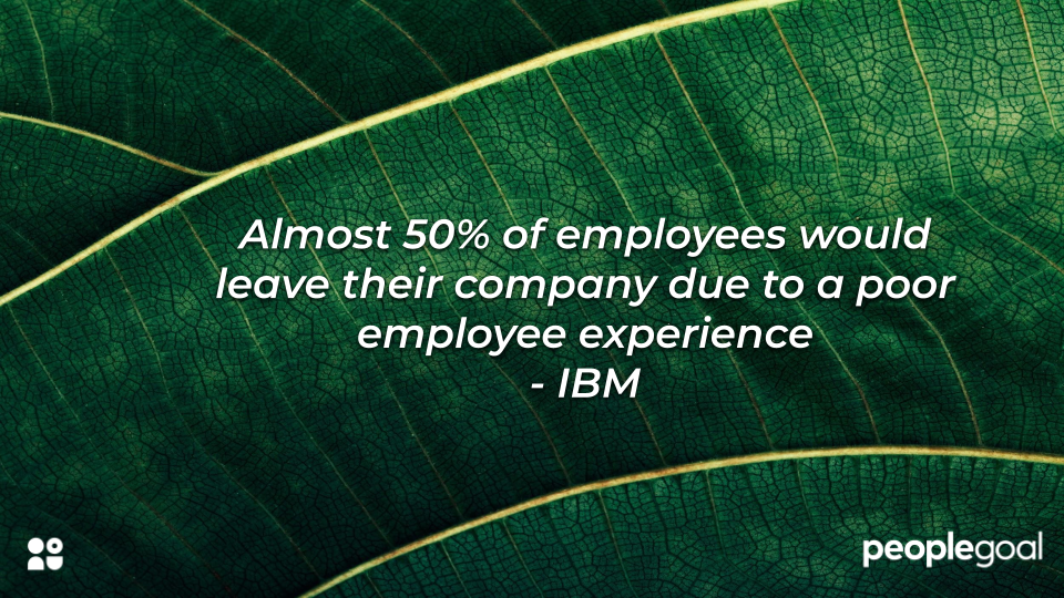 IBM Statistic on Employee Experience