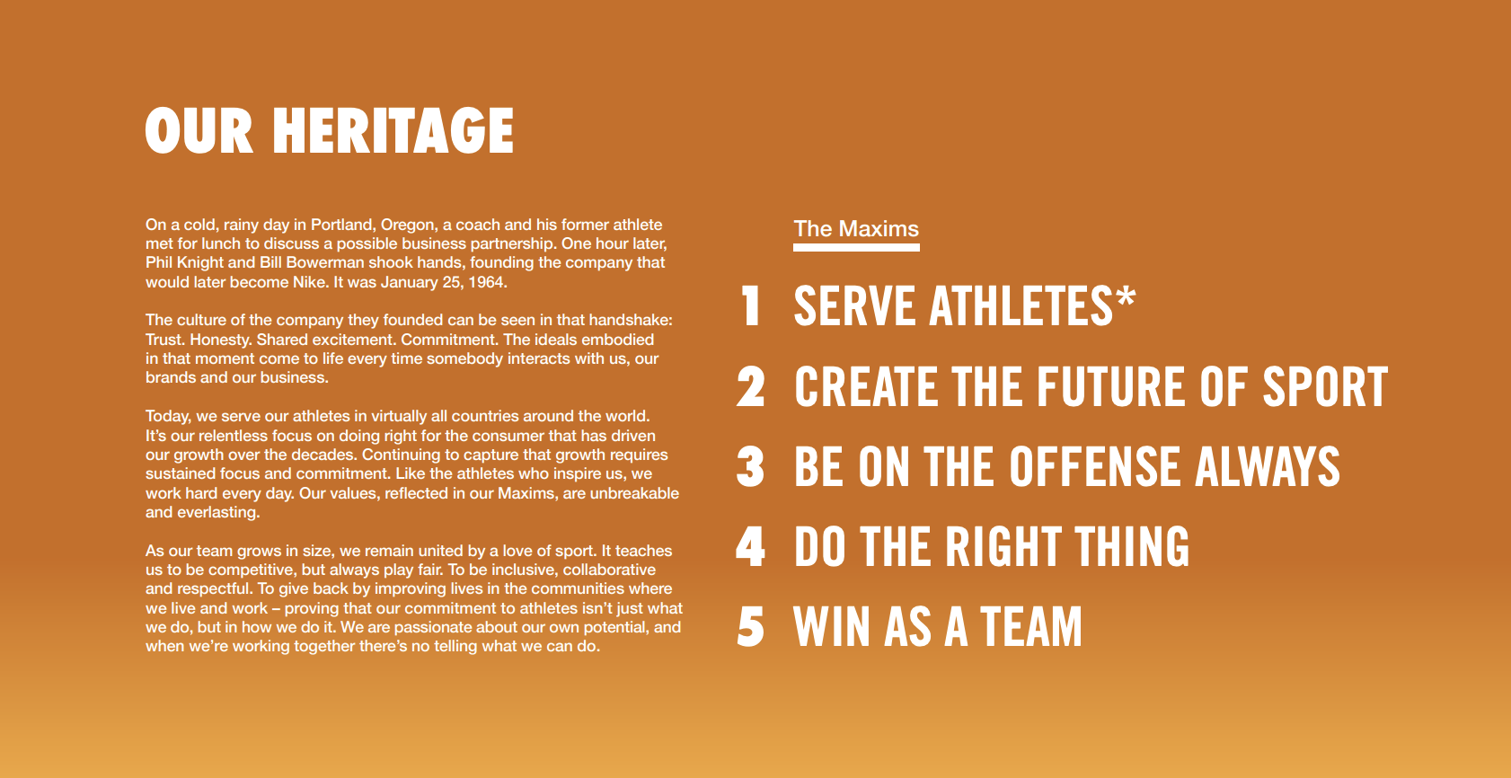 Nike Employee Handbook Sample 2019