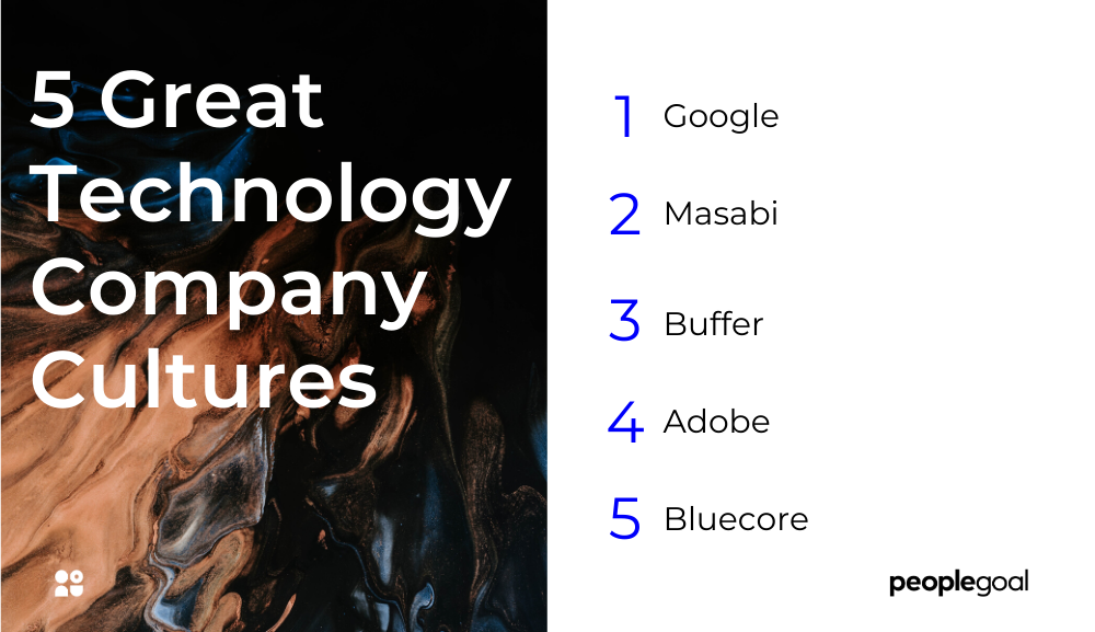 Five company culture examples from technology companies