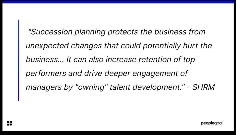 Employee development - succession