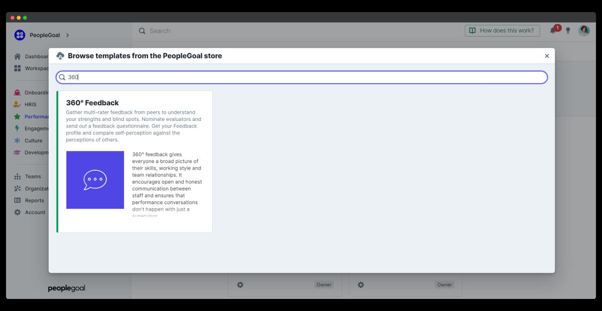 360 feedback - app information