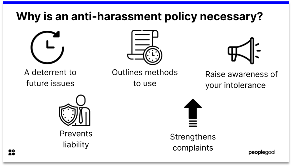 anti-harassment policy 5