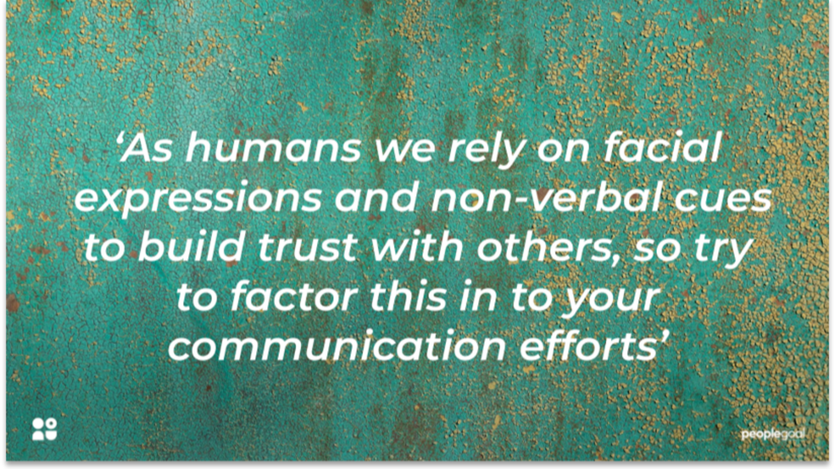 Building Trust for Employee Relations