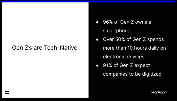 Gen Z Employee - tech-native