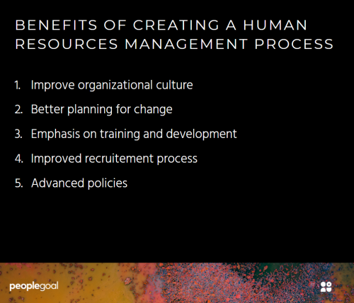 The Benefits of Human Resources Management