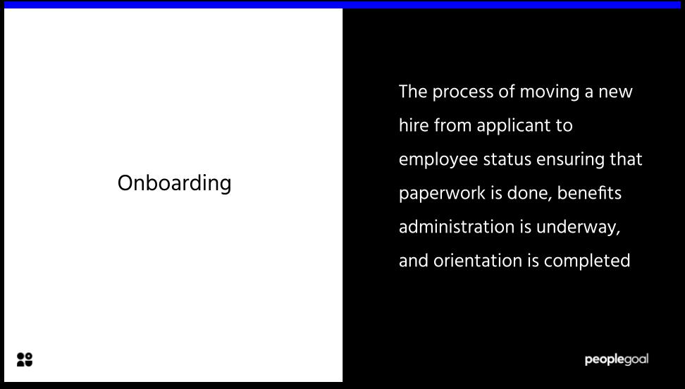 Onboarding Definition