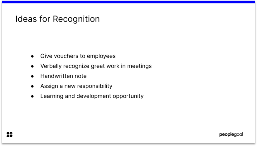 Recognition for High Team Engagement