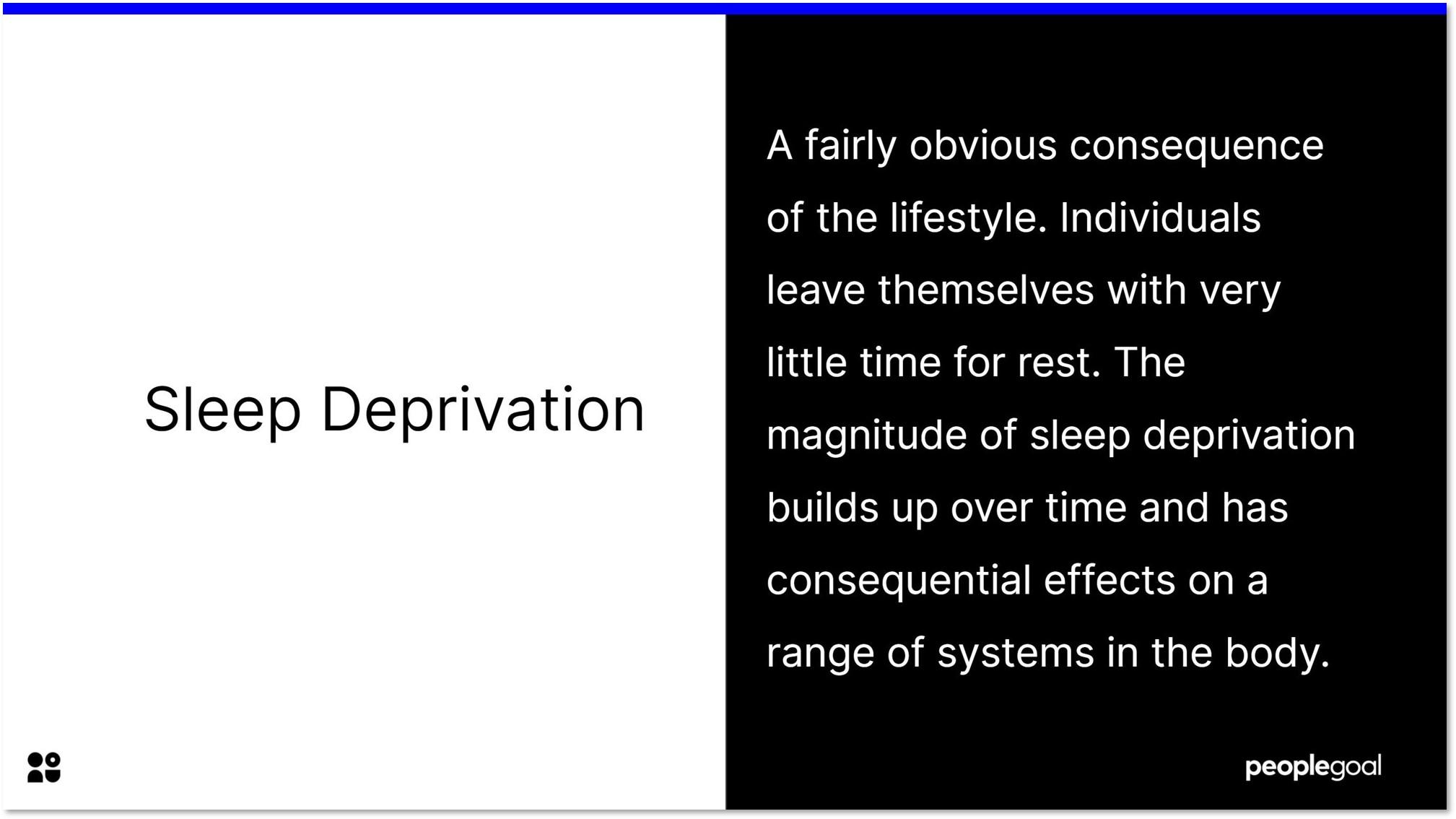 sleep deprivation risk