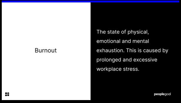 burnout - definition