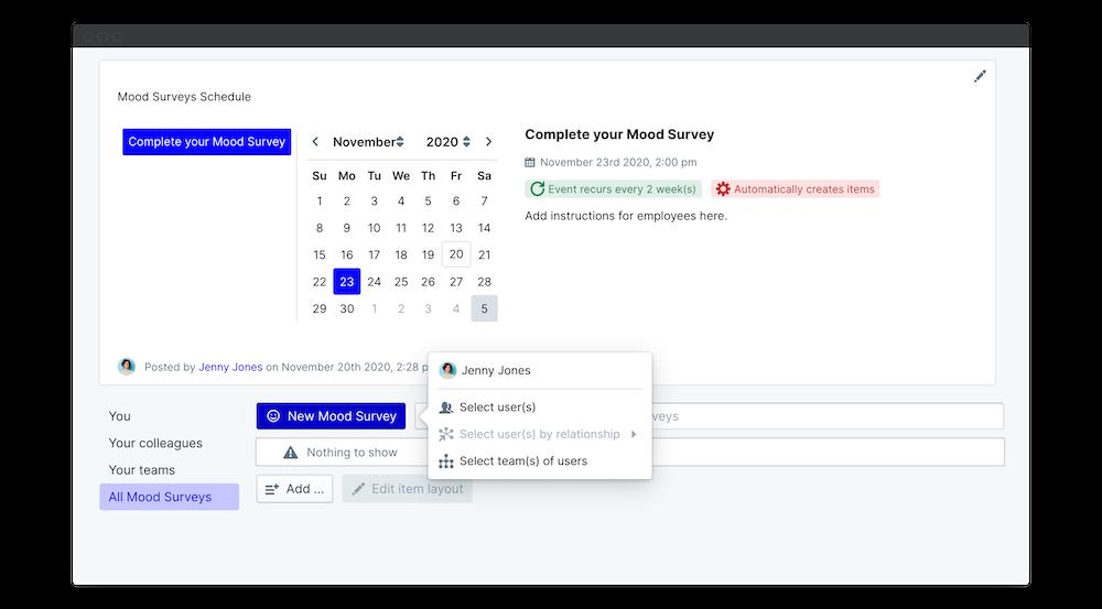 mood surveys launch