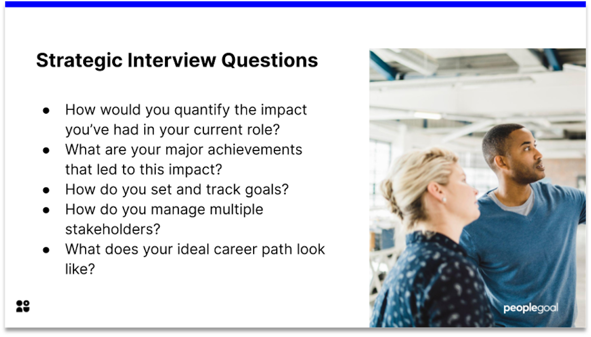 strategic manager interview questions