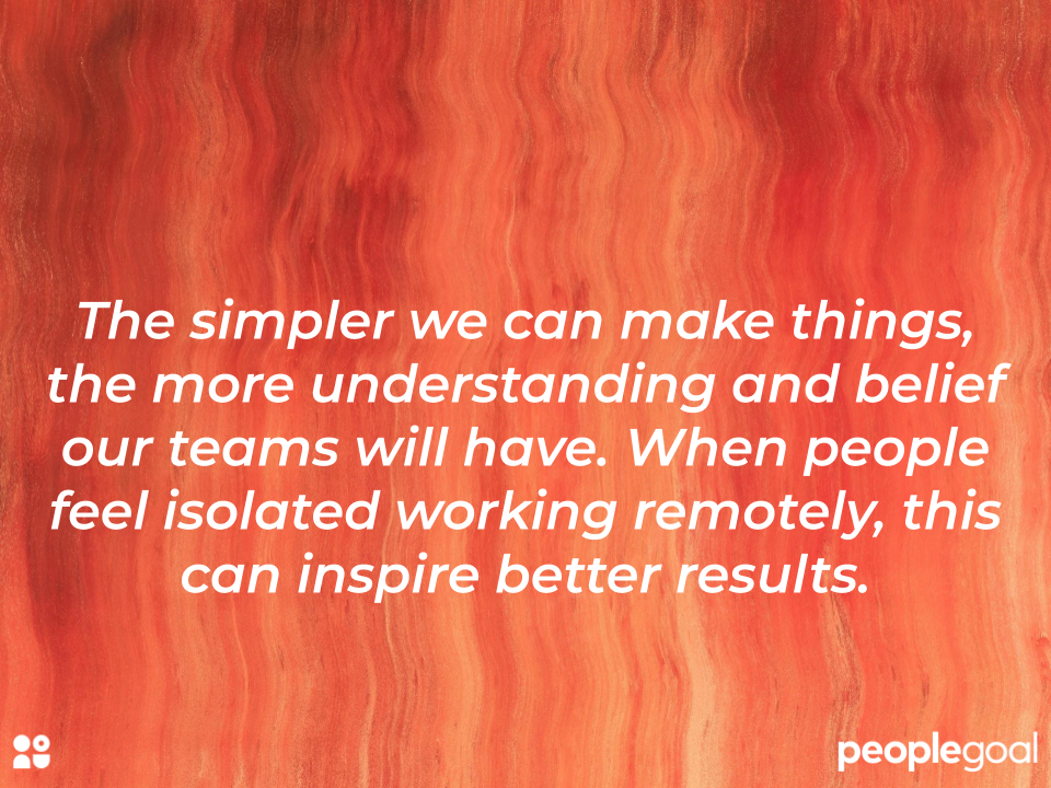 Task management: quote on simplifying