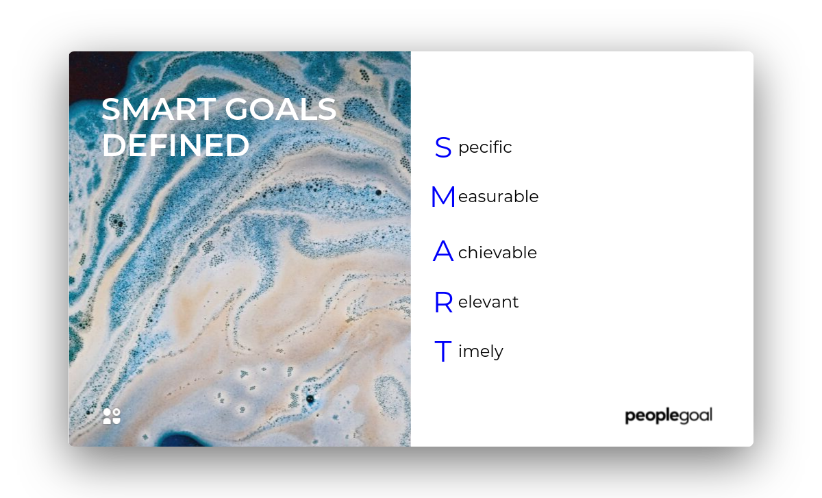 SMART Goals for Managers Defined
