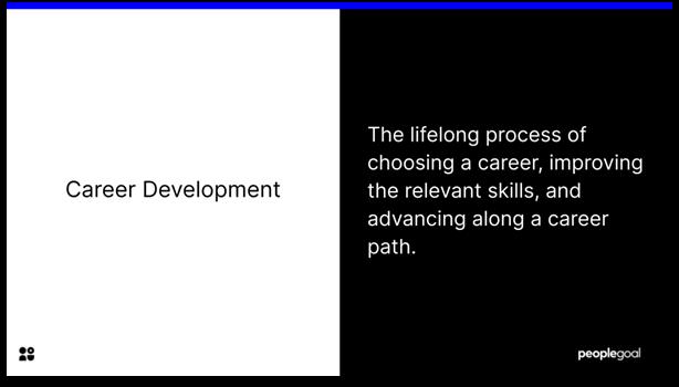 Career Development - career development
