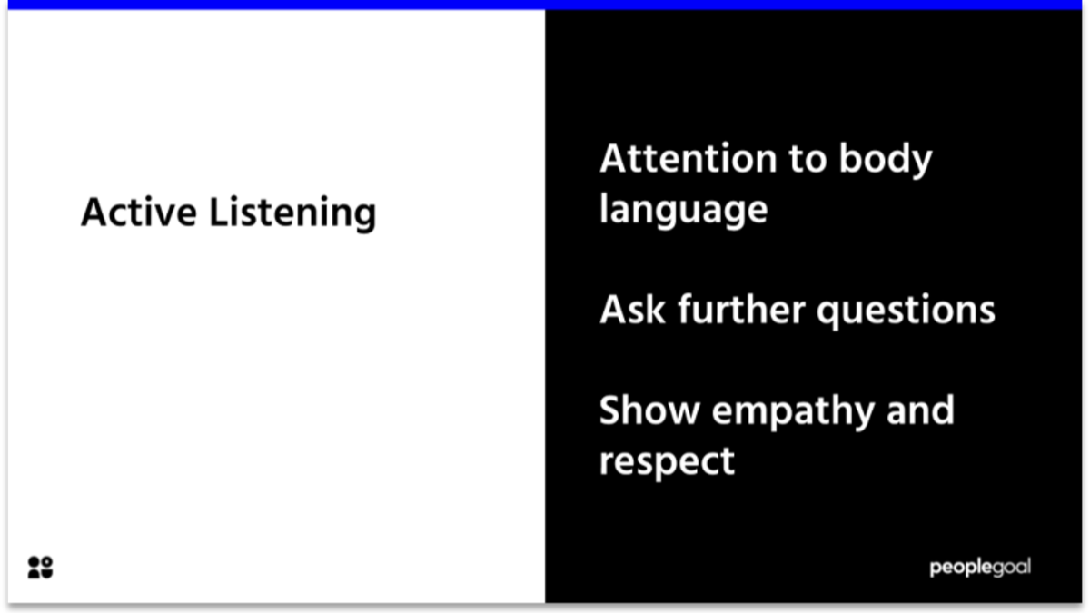 Active listening for strong company cultures