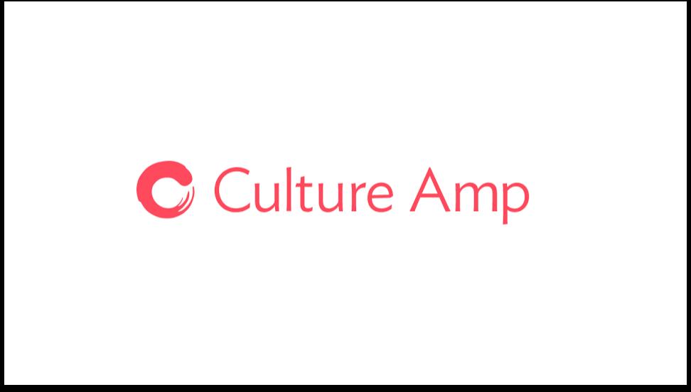 Culture Amp logo Employee Engagement software