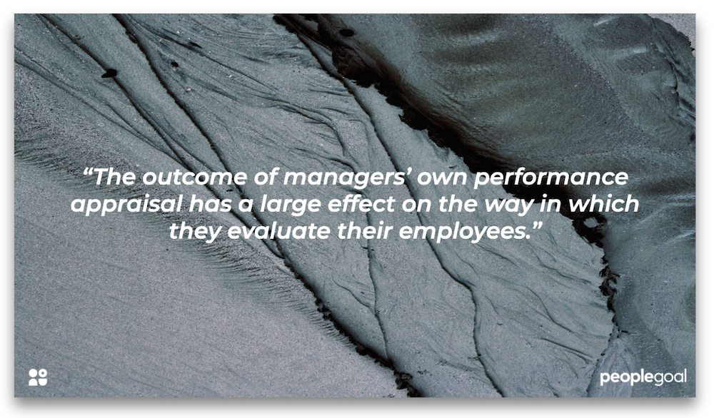 bias in performance appraisal