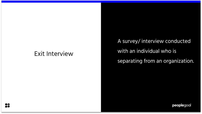 Exit Interview Definition