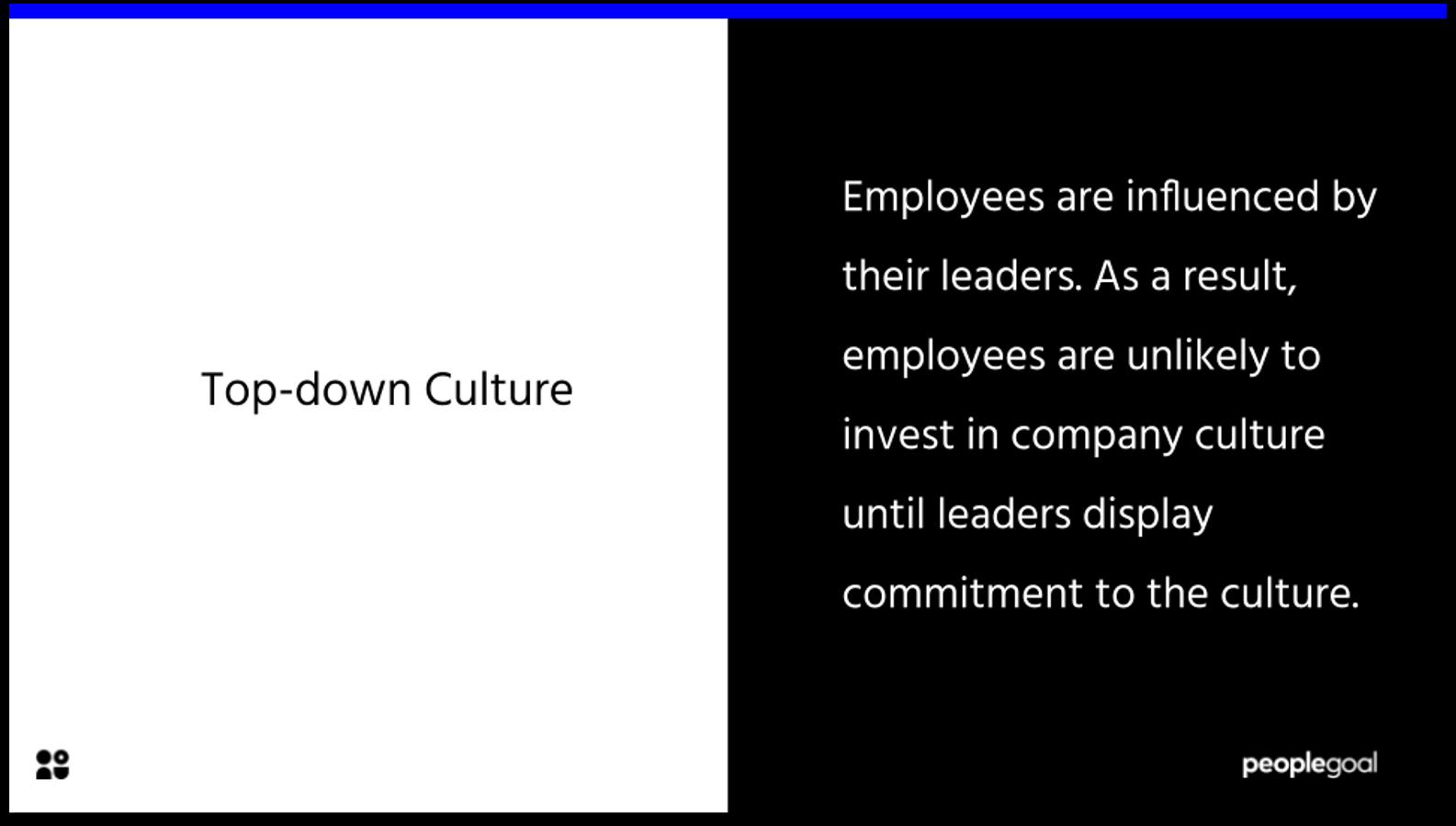 top-down culture