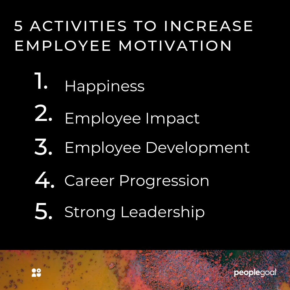 boost employee motivation