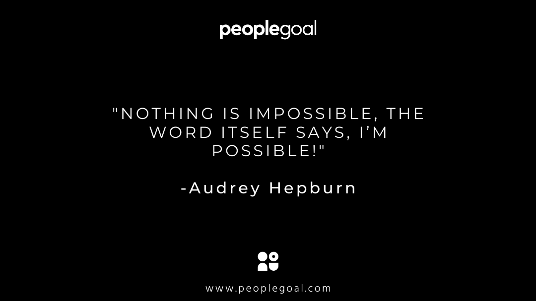 motivational quotes for employees - hepburn