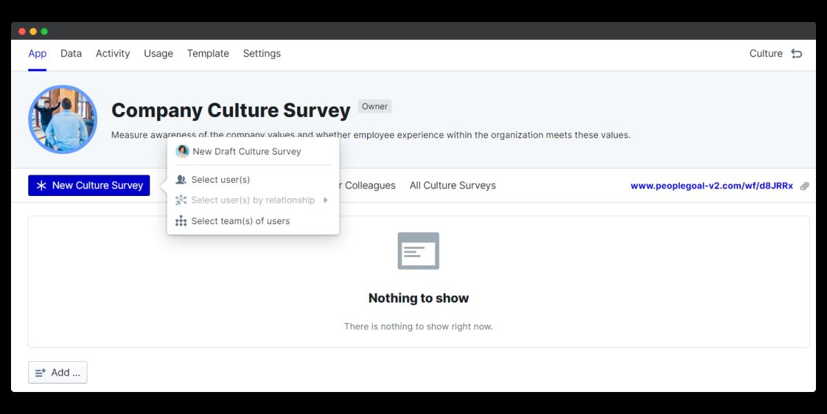 company culture survey - new survey