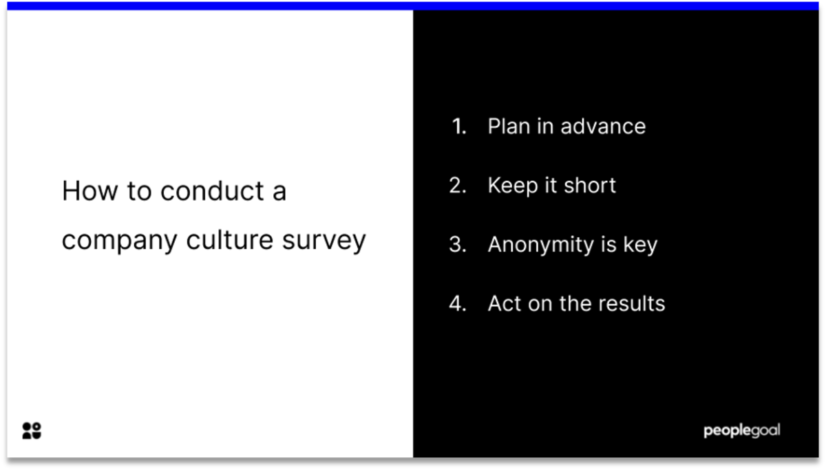how to conduct a company culture survey