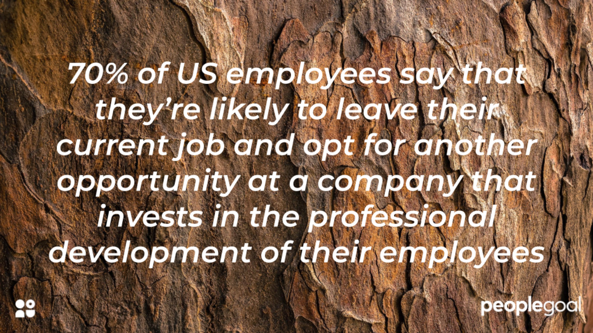 70% employees would switch based on company personal development opportunities